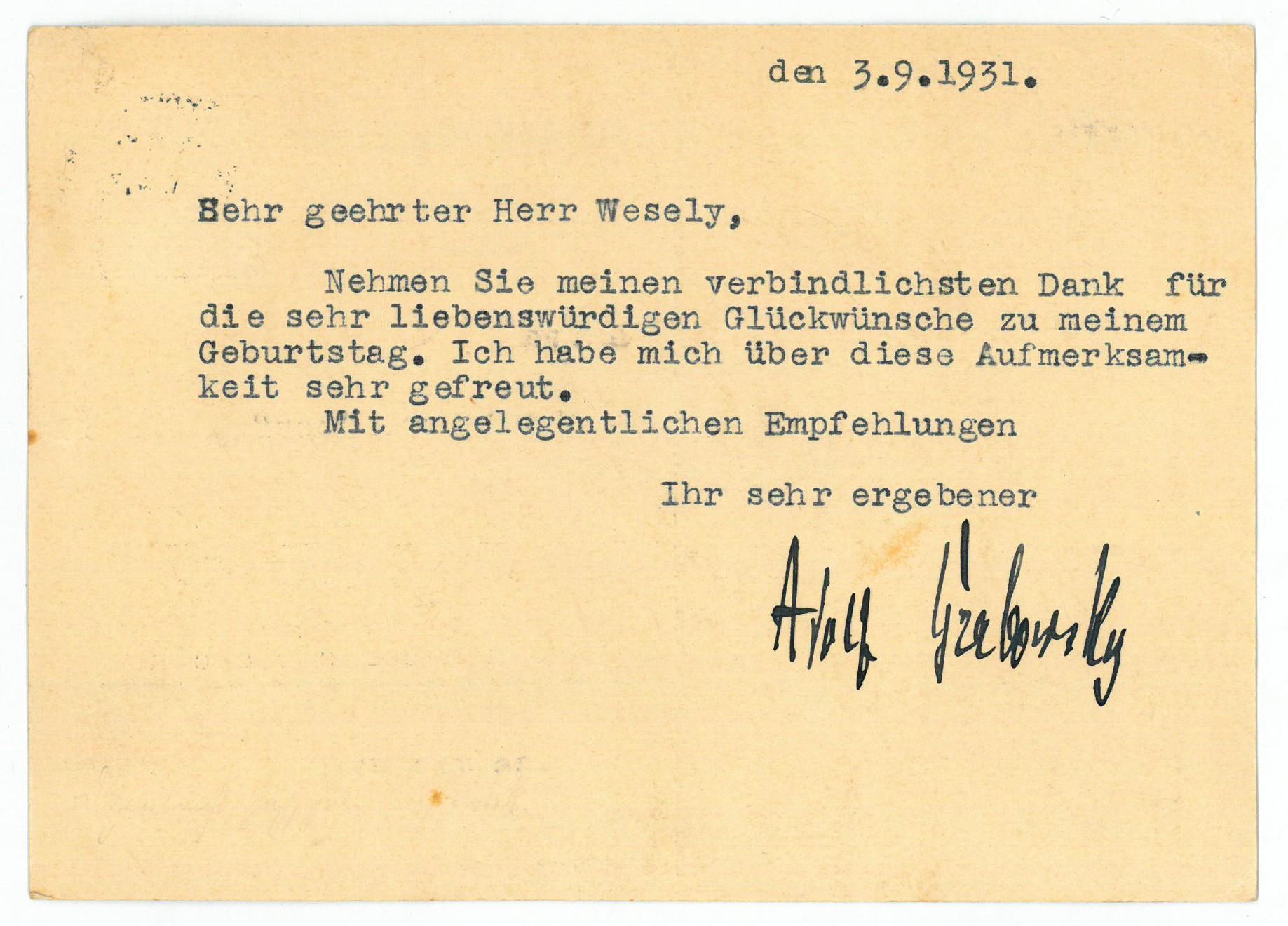 Adolf Grabowsky