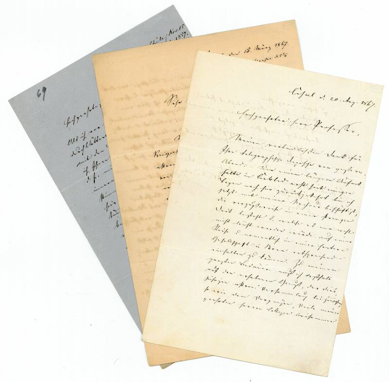 Briefe Nach Chile : Karl wilhelm moesta