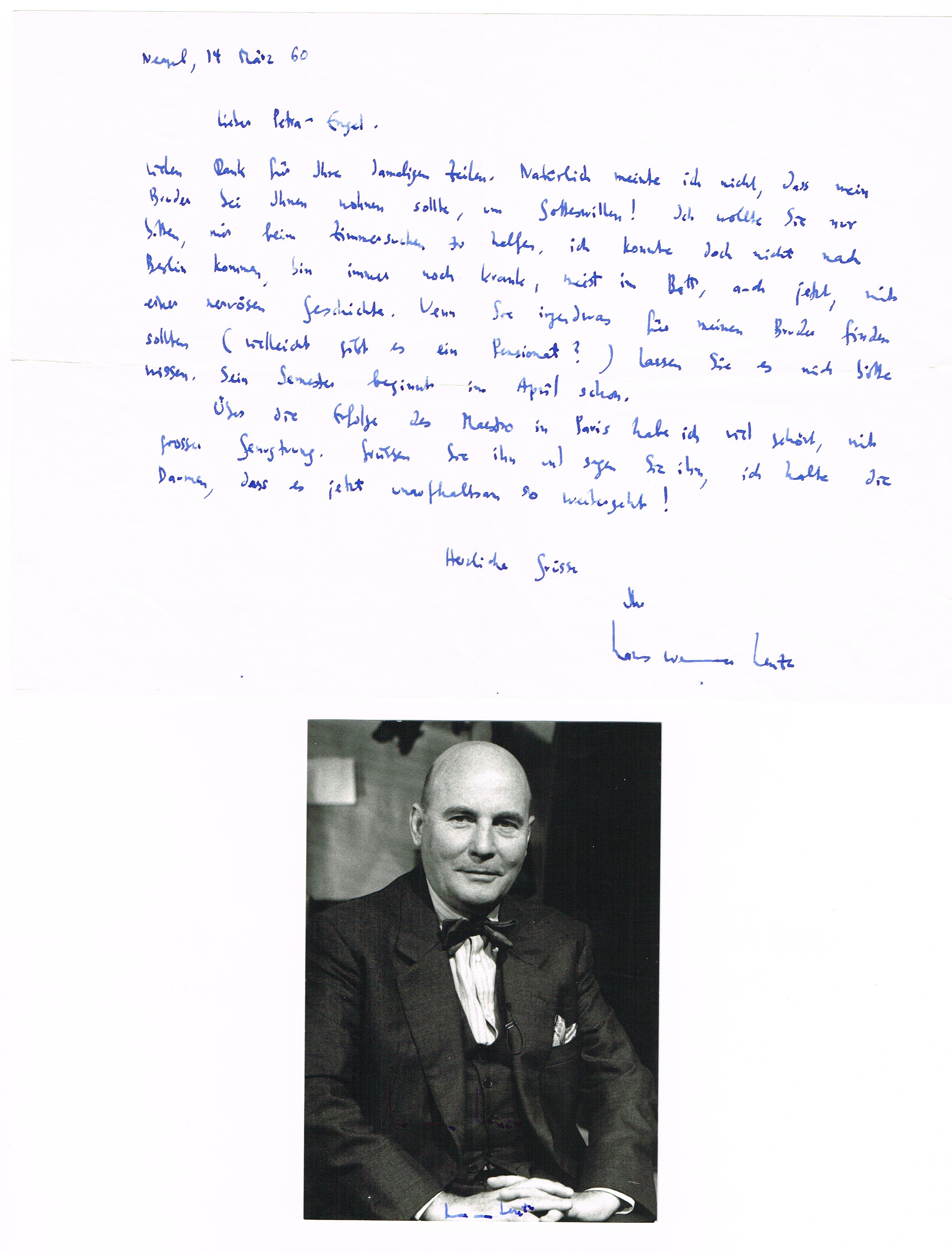 Dt. Komponist Hans Werner