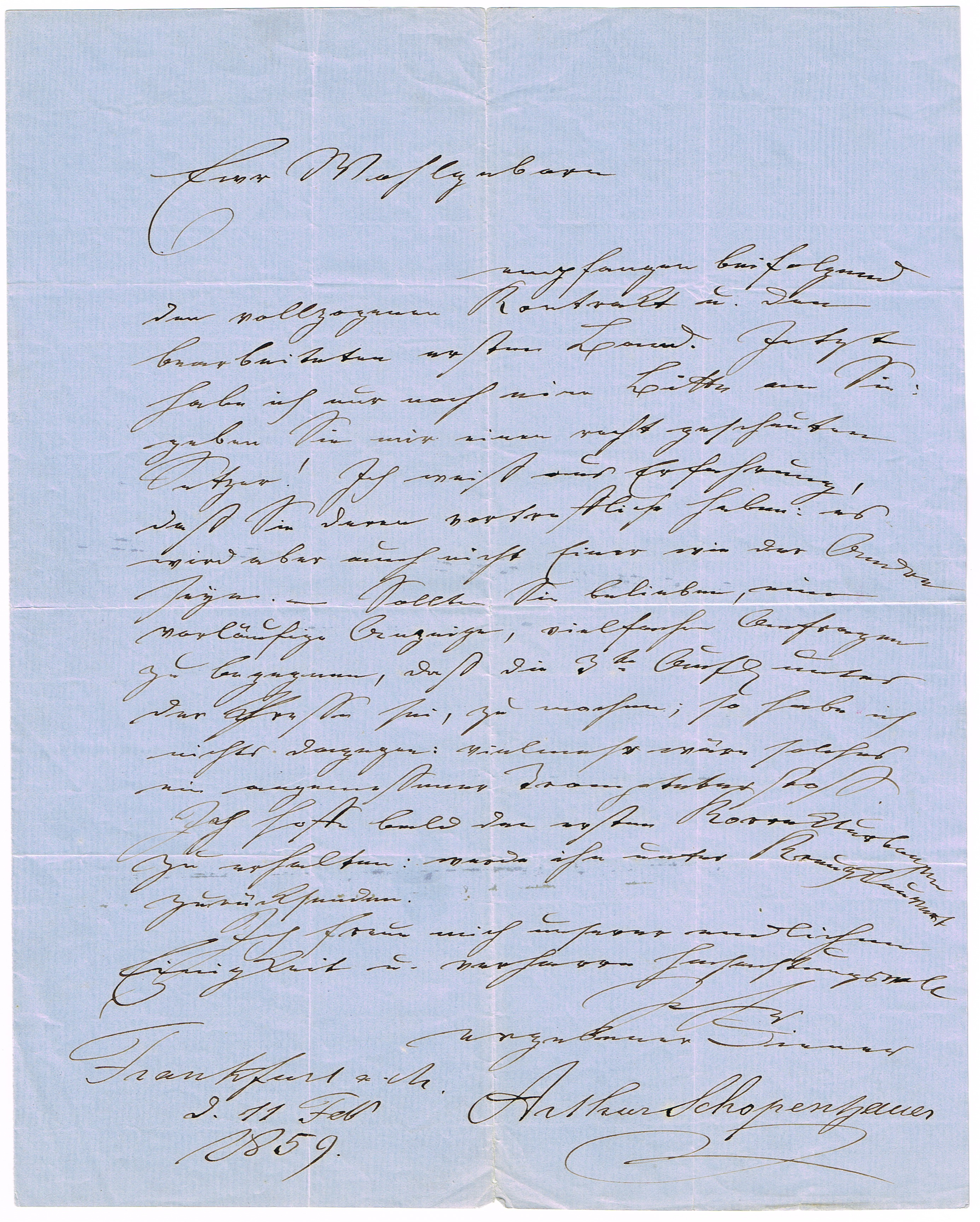 letter to the editor about arthur schopenhauer essay Read and write the essay, therefore, is not a finished product and should not be  judged by  their position on one or more than one of schopenhauer's claims,  using  range of the elements of effective writing but is not necessarily flawless.