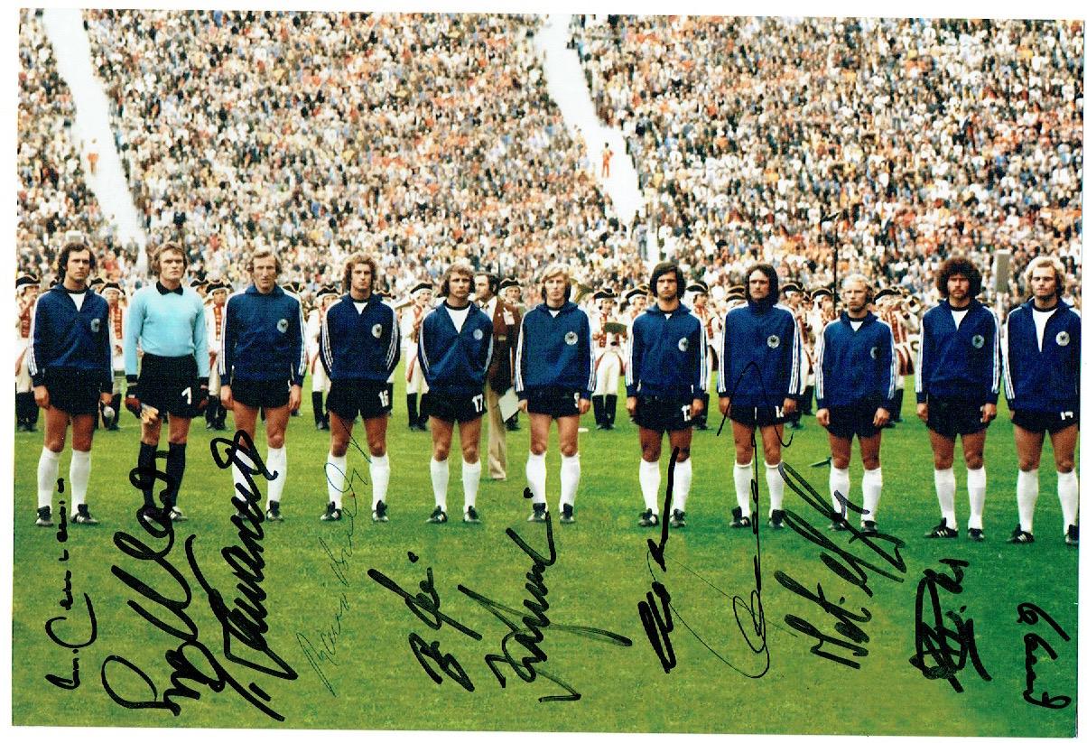 Deutsche Nationalmannschaft 1974